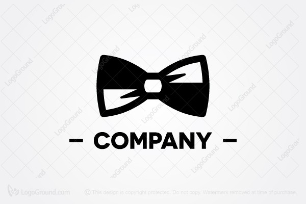Logo for sale: Black Bowtie Logo